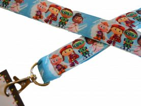 12 Super Why ! Birthday Party Lanyard Favors w Name Card Tags