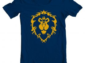 Mens World of Warcraft Alliance shirt