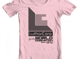Womens Superman Luthor Corp Shirt