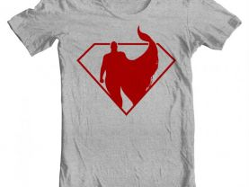 Youth Superman Silhouette Shirt
