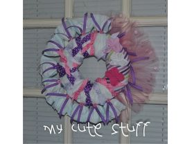 Baby Wreath - Nursery Wreath - Newborn Wreath - Nursery Gift - It&trade;s a Girl Wreath