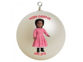 American Girl Addy Personalized Custom Christmas Ornament