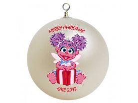 Sesame Street Abby Caddaby Personalized Custom Christmas Ornament