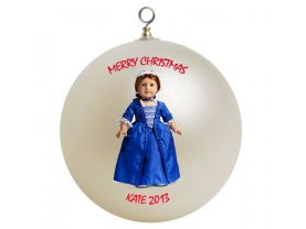 American Girl Felicity #3 Personalized Custom Christmas Ornament