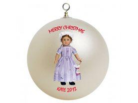 American Girl Felicity Personalized Custom Christmas Ornament