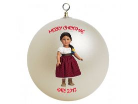 American Girl Josefina Personalized Custom Christmas Ornament