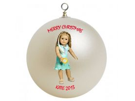 American Girl Kailey Personalized Custom Christmas Ornament