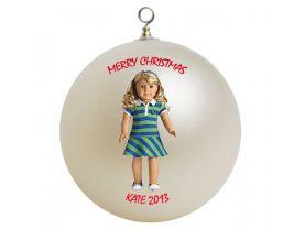American Girl Lanie Personalized Custom Christmas Ornament