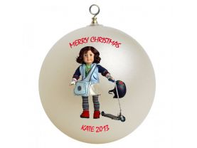 American Girl Lindsey Personalized Custom Christmas Ornament