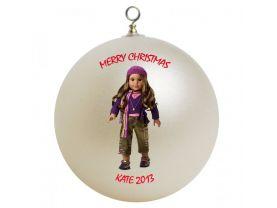 American Girl Marisol Personalized Custom Christmas Ornament