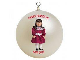 American Girl Samantha Personalized Custom Christmas Ornament