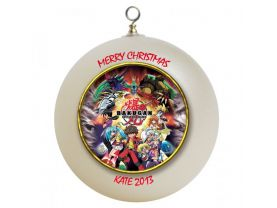Bakugan Personalized Custom Christmas Ornament
