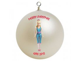 Toy Story Barbie Personalized Custom Christmas Ornament