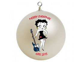 Betty Boop Personalized Custom Christmas Ornament #2