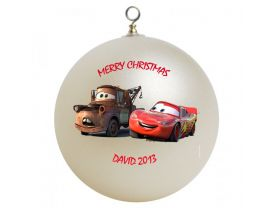 Cars Personalized Custom Christmas Ornament #2