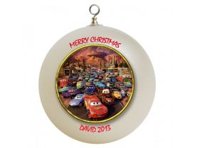 Cars Personalized Custom Christmas Ornament #3