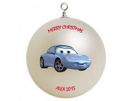 Cars Sally Personalized Custom Christmas Ornament