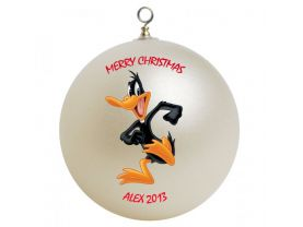 Daffy Duck Personalized Custom Christmas Ornament