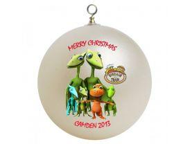 Dinosaur Train Personalized Custom Christmas Ornament
