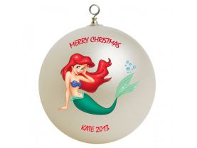 Disney Ariel the Little Mermaid Personalized Custom Christmas Ornament