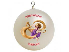 Disney Tangled Rapunzel Personalized Custom Christmas Ornament