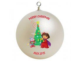 Dora the Explorer #2 Personalized Custom Christmas Ornament
