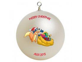 Dora the Explorer Swiper Personalized Custom Christmas Ornament #2
