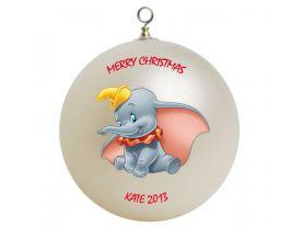 Dumbo Personalized Custom Christmas Ornament