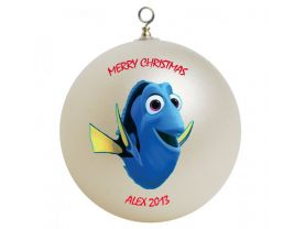 Finding Nemo Dory Personalized Custom Christmas Ornament