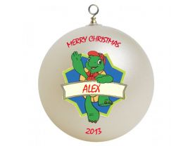 Franklin #2 Personalized Custom Christmas Ornament