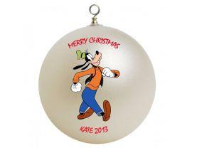 Goofy Personalized Custom Christmas Ornament