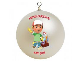 Handy Manny Personalized Custom Christmas Ornament