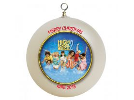 High School Musical 2 Personalized Custom Christmas Ornament