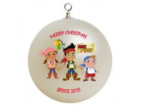 Jake and the Neverland Pirates Personalized Custom Christmas Ornament