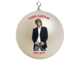 Jon Bon Jovi Personalized Custom Christmas Ornament