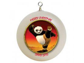 Kung Fu Panda Personalized Custom Christmas Ornament