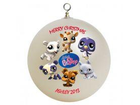 Littlest Pet Shop Personalized Custom Christmas Ornament