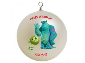 Monsters Inc. Personalized Custom Christmas Ornament