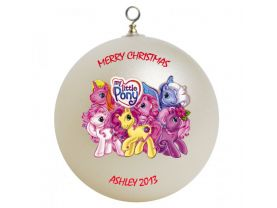 My Little Pony Personalized Custom Christmas Ornament #1