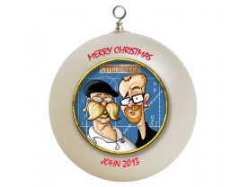 Mythbusters Personalized Custom Christmas Ornament