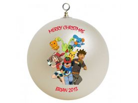 Pokemon Personalized Custom Christmas Ornament #2