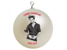 Robert Patterson Personalized Custom Christmas Ornament