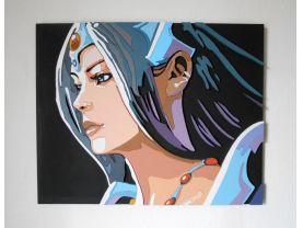 Handmade Mirana, Dota 2 portrait