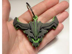 Handmade Outworld Devourer, Dota 2 keychain