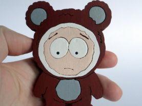 Handmade Butters Paris Hilton's pet, South Park Figure