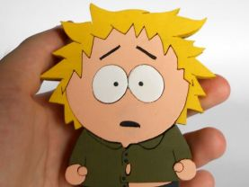 Handmade Tweek Tweak South Park Figure