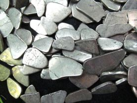free ship--20-60mm genuine pyrite  beads ,  nuggets freeform  irregular  flat &faceted  gold iron  beads  full strand 16inch