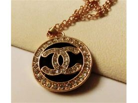 crystal necklace gold(76cm)