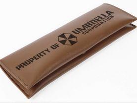Resident Evil Umbrella Corporation Leather Pencil Case Pouch Bag
