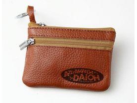 Azumanga Daioh Leather Zippered Coin Bag Key Pouch